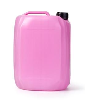 Caixinha rosa isolada no branco