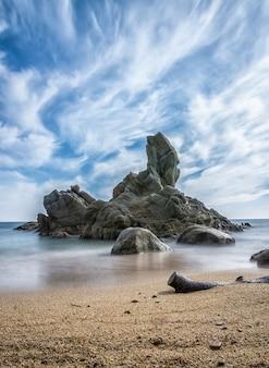 Cala roca del paller paisagem da costa brava