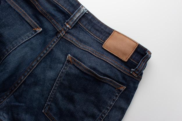 Calça jeans background.texture de jean azul, denim