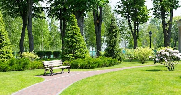 Calçada no parque