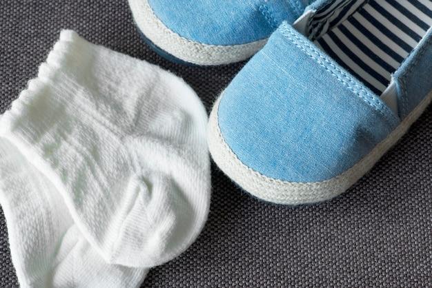 Calçado meias presente calçado recém-nascidos botas