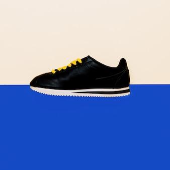 Calçados, tênis design de moda minimalista