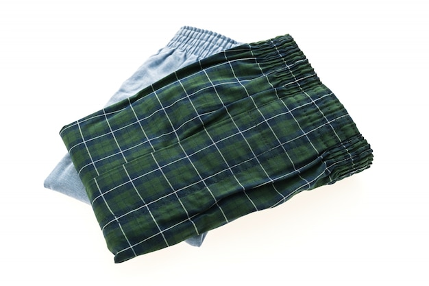 Calças cueca boxer cuecas de algodão