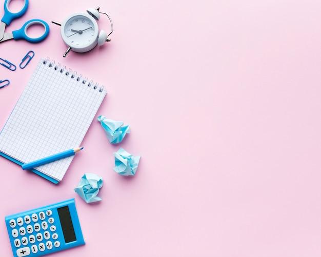 Calculadora em branco e espaço de cópia da calculadora