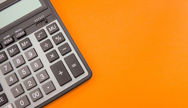 Calculadora moderna, contabilidade de negócios e finanças