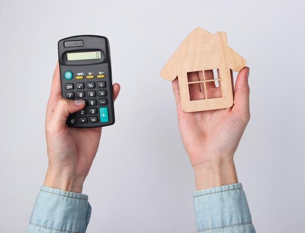 Cálculo do custo da habitação, aluguel.
