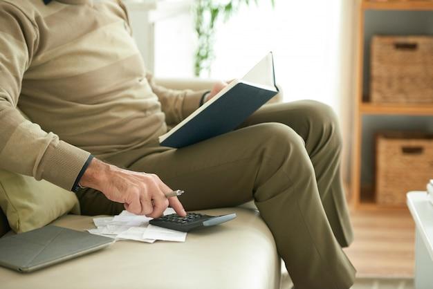 Cálculo do pagamento de crédito
