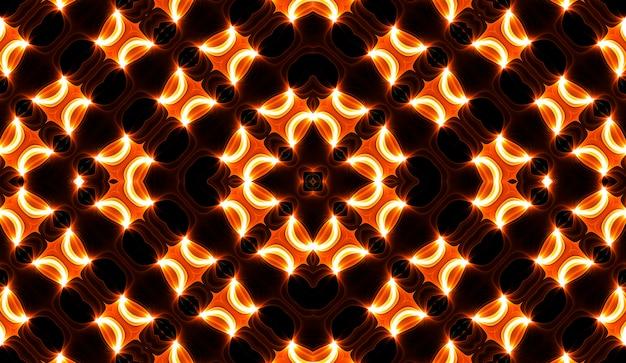 Caleidoscópio amarelo quente. impressão de corante de gravata espiral de outono. textura caleidoscópica. vestido cigano. design de mistura de cores de cores quentes. design de tecido indonésio de cores quentes. design colorido do redemoinho dos hippys brilhantes.