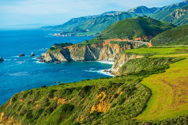 Califórnia coastal highway 1