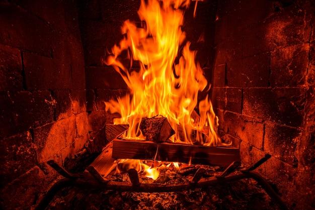 Calor da lareira