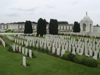 Cama de um cemitério tyne