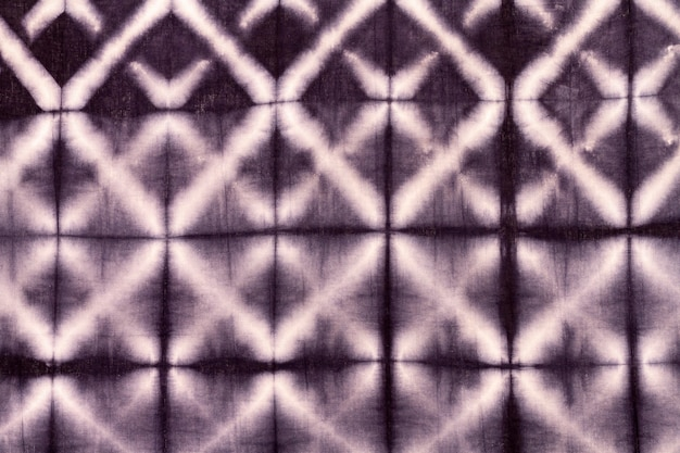 Camada plana de tecido tie-dye