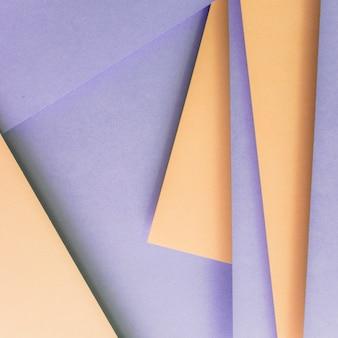 Camadas bege e roxas de plano de fundo texturizado