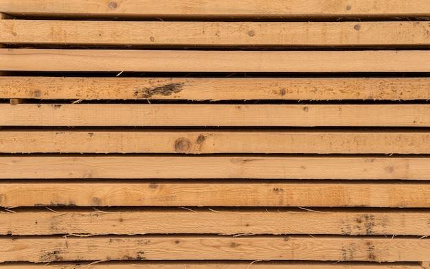 Camadas de fundo de pranchas de madeira