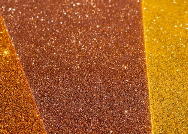 Camadas de fundo gradiente dourado