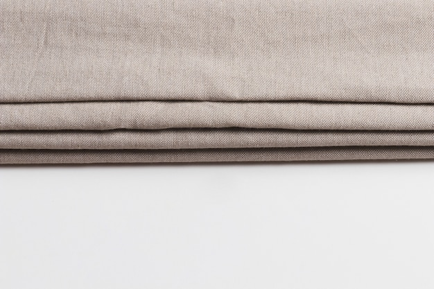 Camadas dobráveis de materiais de tecido