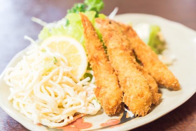 Camarão frito