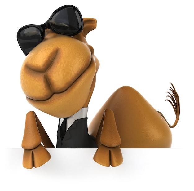 Camelo divertido