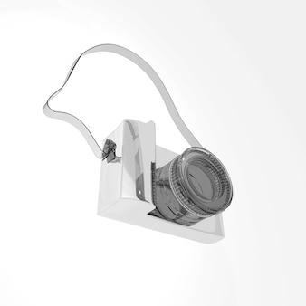Câmera 3d transparente