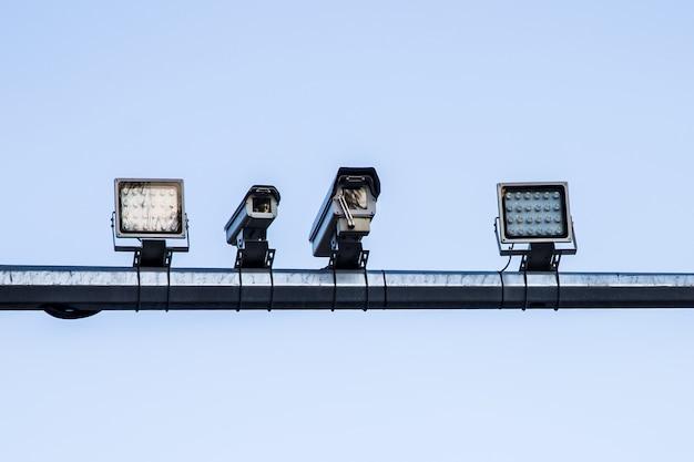Câmera de controle de velocidade