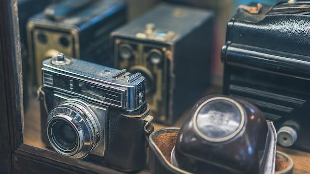 Câmera de filme antigo
