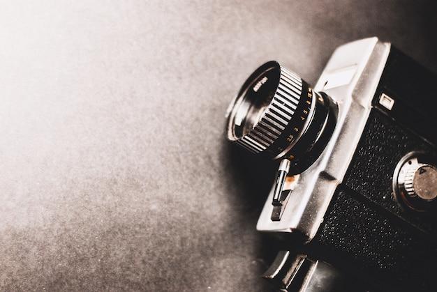 Câmera de filme vintage