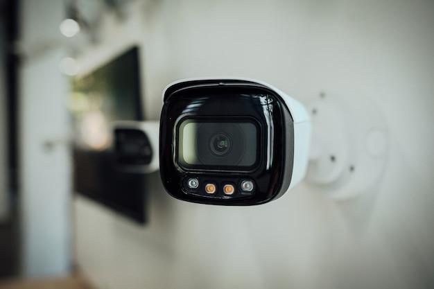 Câmera de segurança cctv ou câmeras de vigilância doméstica proteção de sistema de segurança de proteção de vídeo