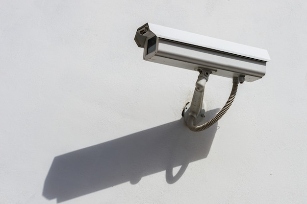 Câmera de segurança externa