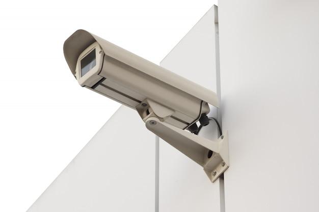 Câmera de segurança isolada