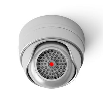 Câmera de segurança moderna isolada