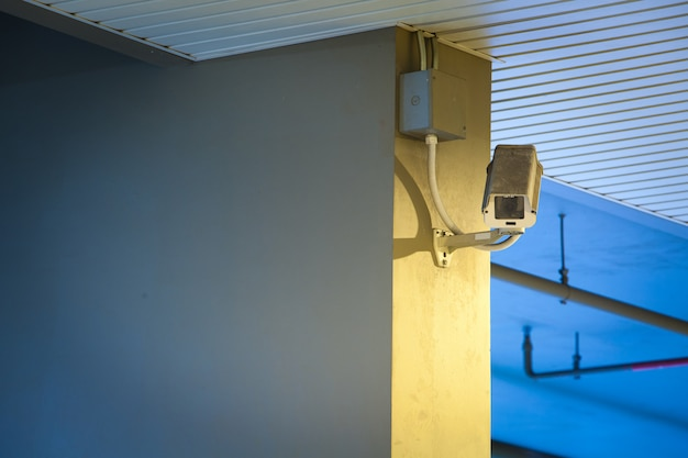 Câmera de vídeo cctv para localização externa