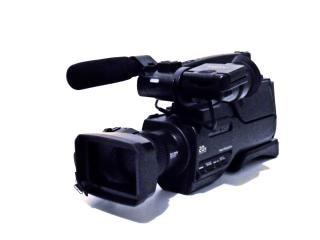 Câmera de vídeo digital, de alta