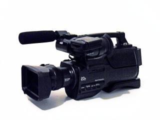 Câmera de vídeo digital, vídeo de alta