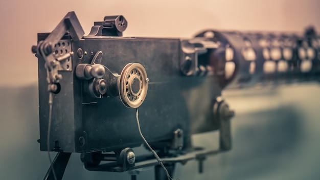 Câmera de vídeo náutica velha