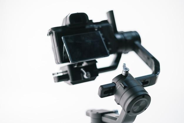 Câmera digital com estabilizador moderno