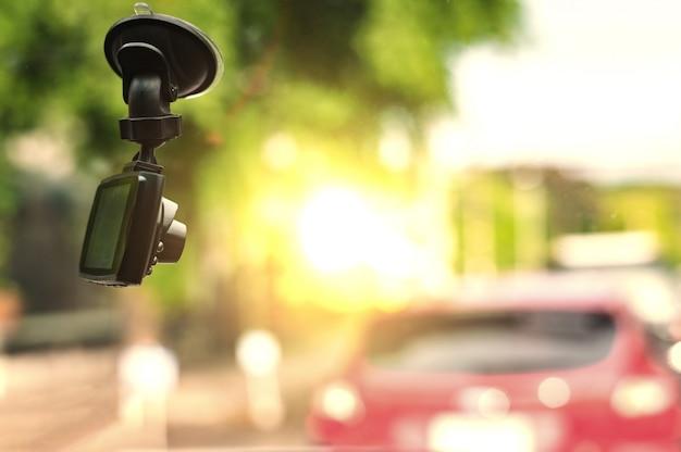 Câmera do carro do cctv para a segurança no acidente de viação