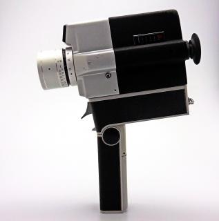 Câmera do vintage, fundo