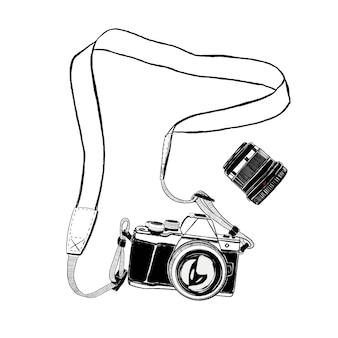Câmera e lente