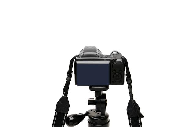 Câmera fotográfica digital isolada