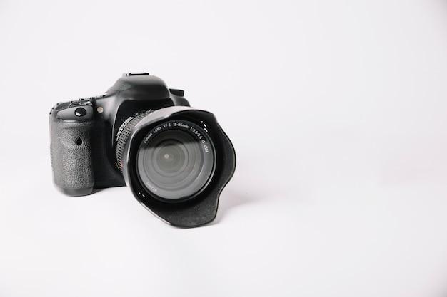 Câmera fotográfica em estúdio