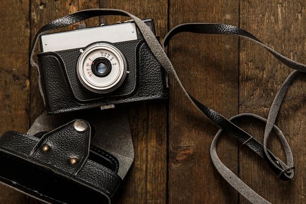 Câmera fotográfica retrô