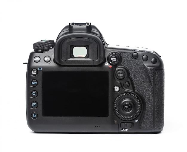 Câmera isolada no branco