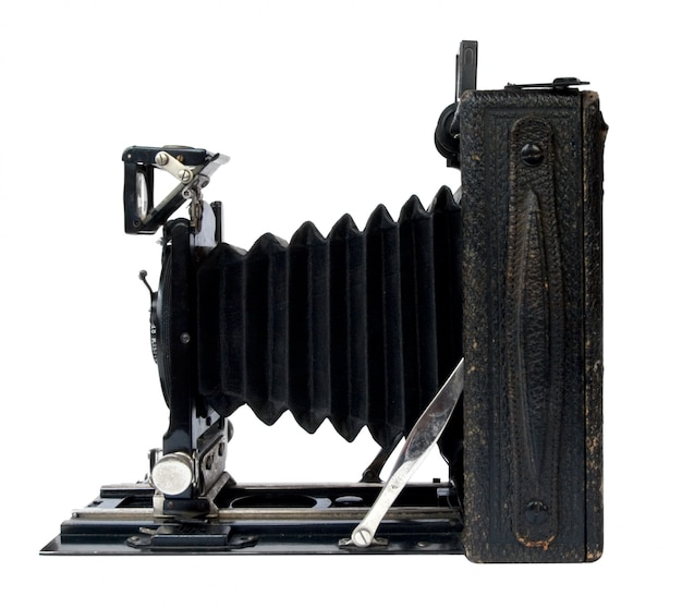 Câmera preta vintage