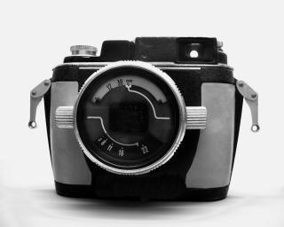 Câmera subaquática vintage