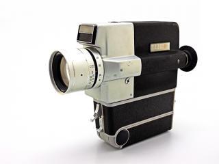 Câmera vintage, o filme