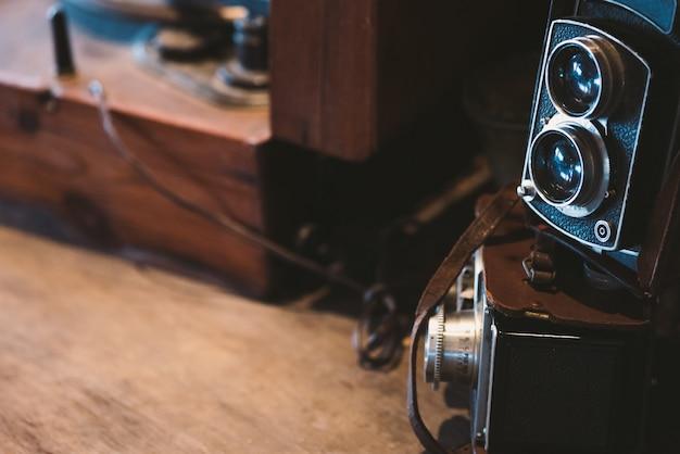 Câmera vintage velha