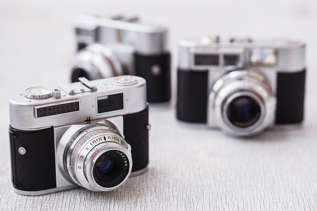 Câmeras retrô