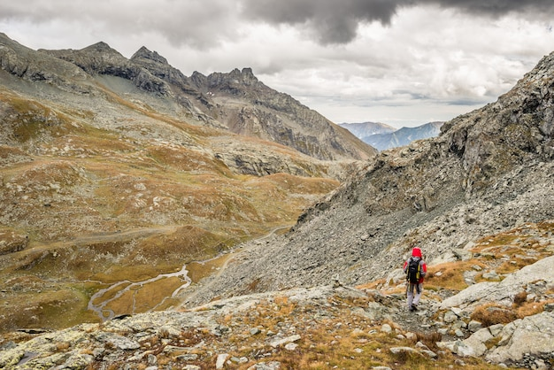 Caminhadas nos alpes italianos