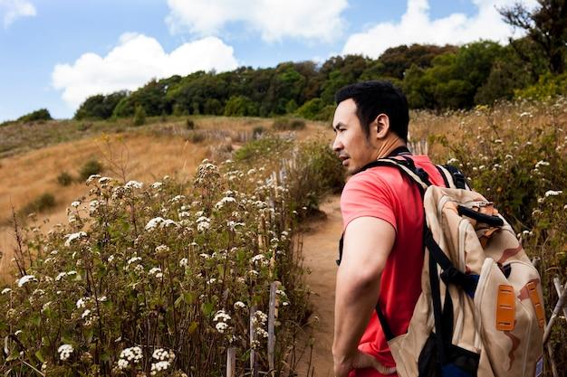 Caminhante, caminho, campos