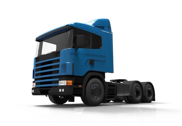 Caminhão azul